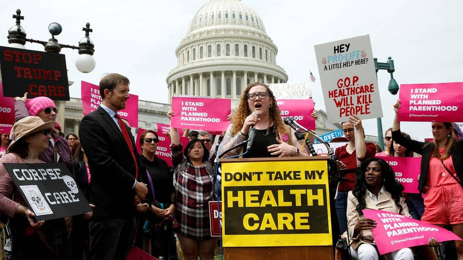 Left using fear to rile up opposition to health care reform?