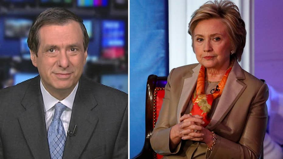 Kurtz: Hillary adds press to grievance list