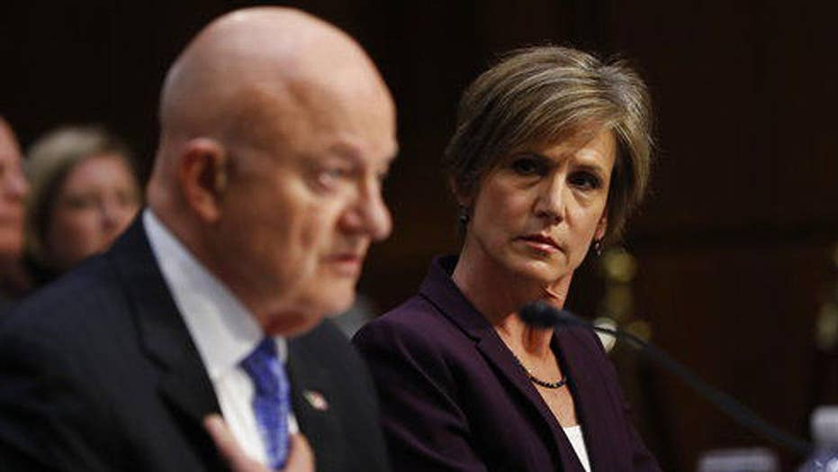 Fallout from Yates', Clapper's testimony at Senate hearing