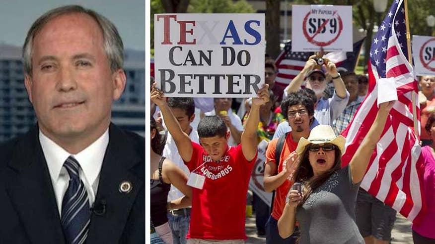 Texas sanctuary city crackdown: AG Paxton sues Austin ...