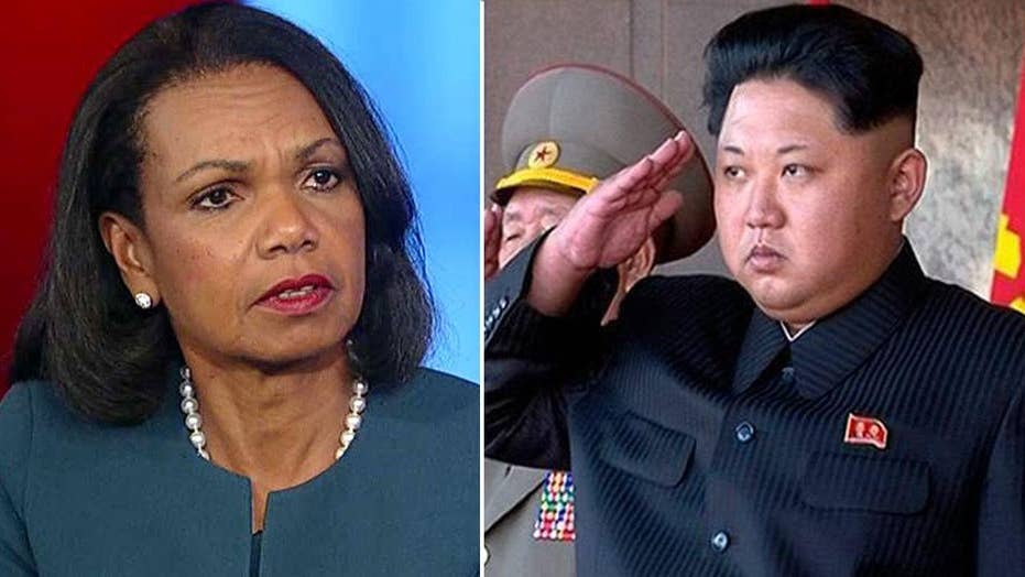 Condoleezza Rice on North Korea: It's a dangerous situation
