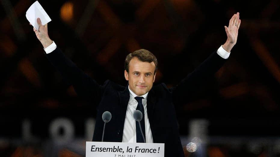 Emmanuel Macron elected president of France