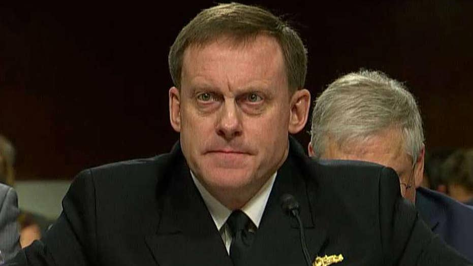 NSA chief Rogers testifies on China, Russia cyber operations