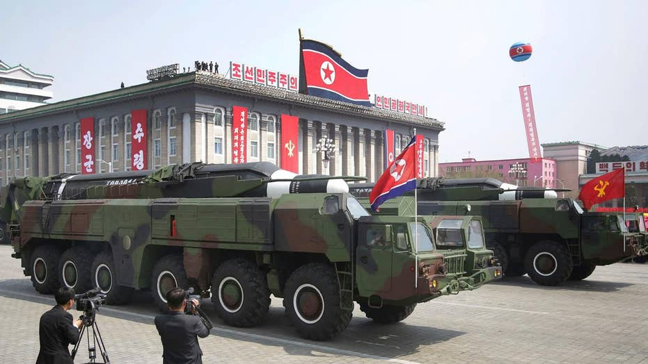 Concerns manmade islands off NKorea could be missile sites
