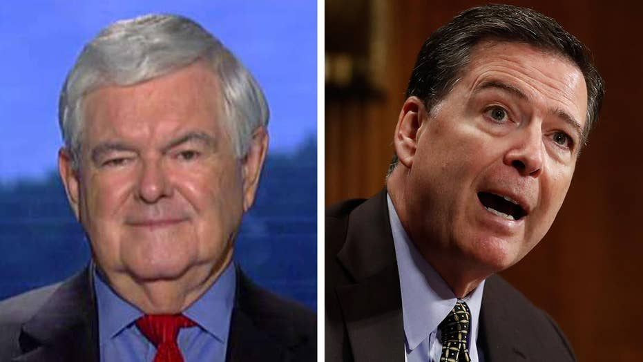 Gingrich on Comey firing: No doubt Trump did the right thing