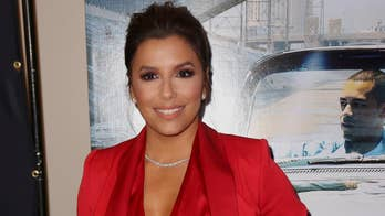 Eva Longoria's says workouts have been 'torture' as she gets into shape after welcoming son