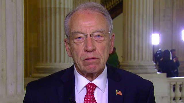 Grassley: Heard nothing that contradicted Trump statement