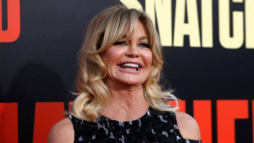 Fox411: Goldie Hawn said she turned to God when son Oliver nearly died