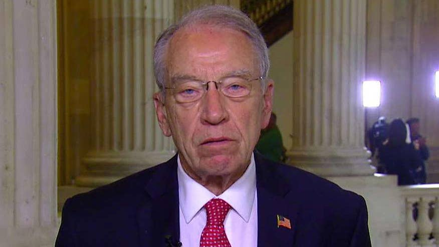 On 'Your World,' the Senate Judiciary Committee chairman reacts to the firing of Comey, calls for a special prosecutor to oversee the Russia probe