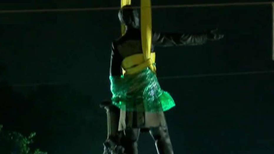 Statue of Jefferson Davis taken down in New Orleans