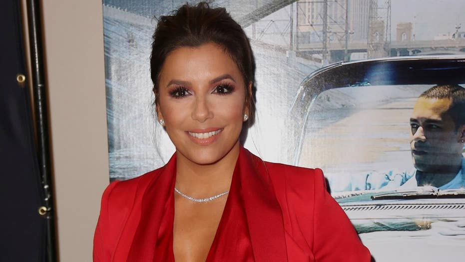 Eva Longoria's says workouts have been 'torture' as she gets