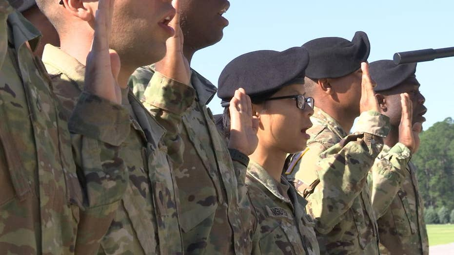 Immigrants pursue dreams of serving in the US Army