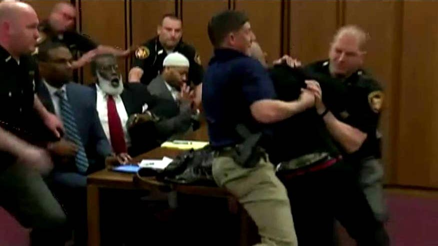 Emotions running high in a Cleveland courtroom