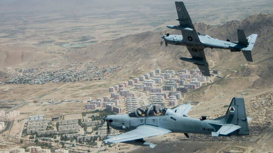 As Spring arrives in Afghanistan and the snow melts, fighting season is about to begin. The Pentagon has sent additional A-29 Super Tucano prop planes to the Afghan Air Force to help in their fight against the Taliban. Watch the A-29 Super Tucano in action