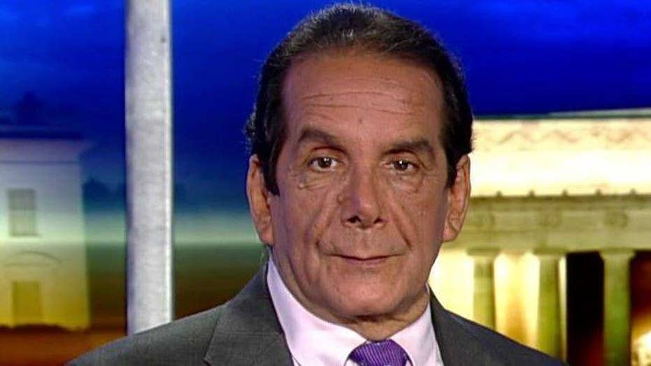 Krauthammer: Comey incident has sent press over the edge