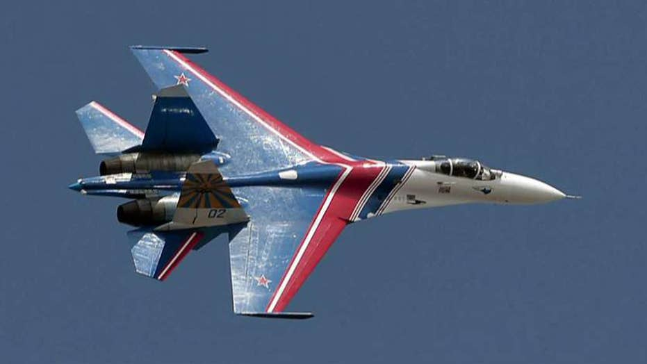 Armed Russian jet flew within 20 feet of US Navy aircraft