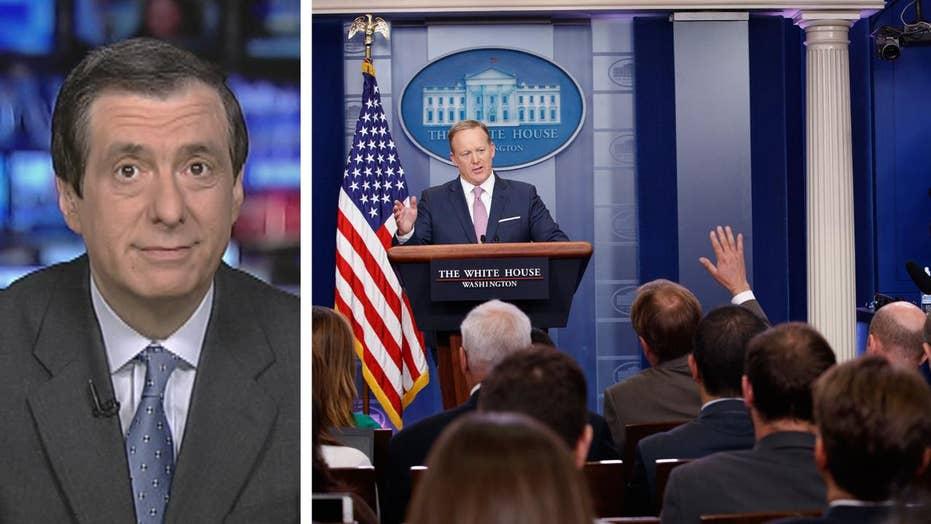 Kurtz: Would Trump dump the briefings?