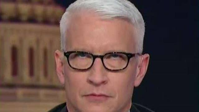 Anderson Cooper's eye roll