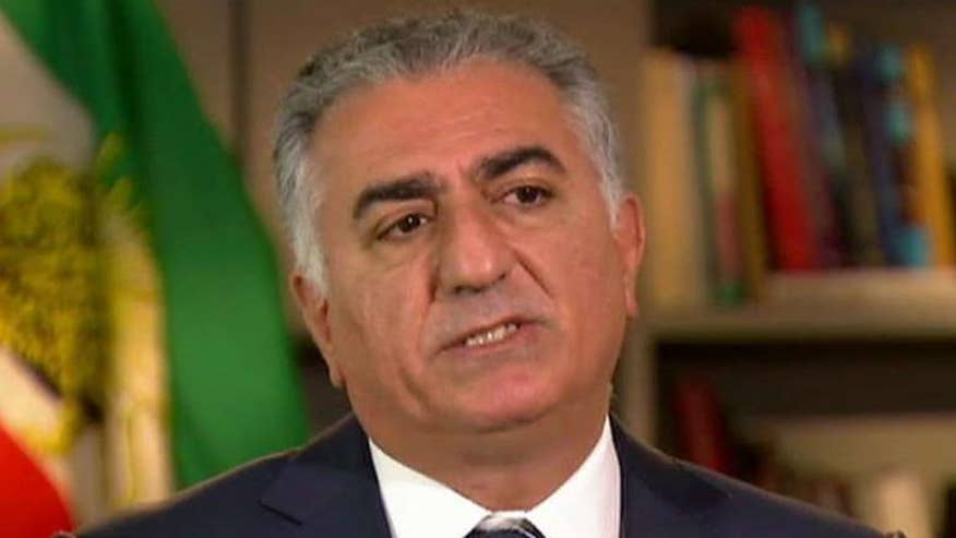 Exiled Prince Reza Pahlavi calls for civil disobedience and protests