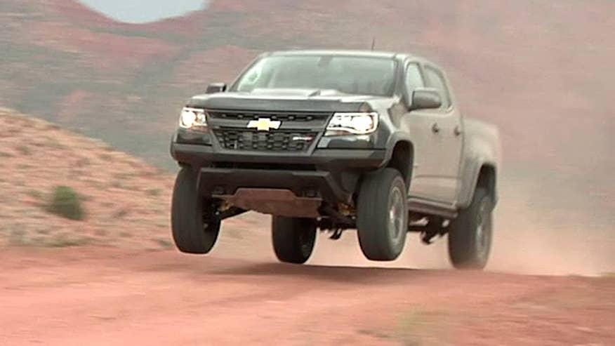 Chevy's new off-road truck can go where no GM diesel pickup has gone before - into the air