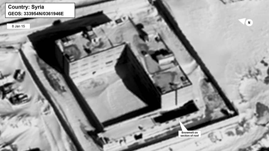 U.S. releases surveillance photos that the State Department believes is a crematorium at Sednaya Prison outside Damascus
