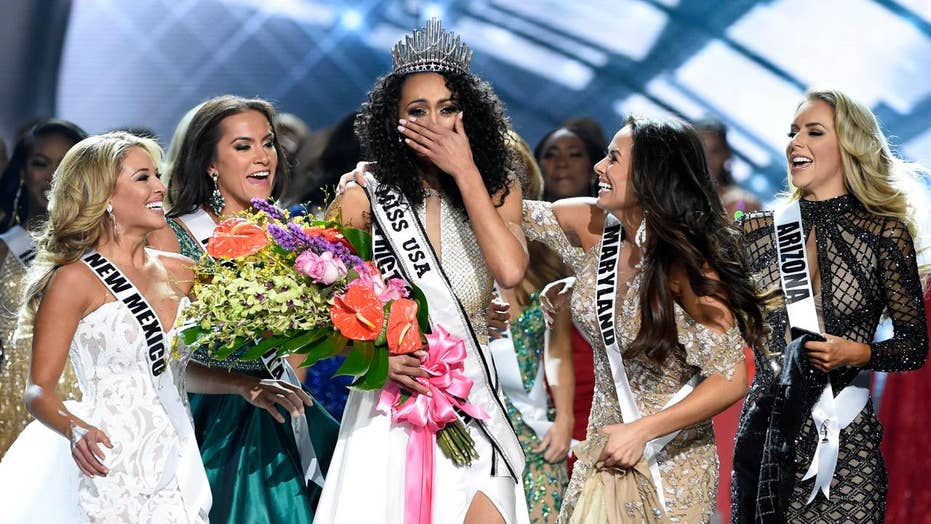 Newly-crowned Miss USA knocked for health care stance