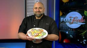 Food Network star Duff Goldman's colorful cookies