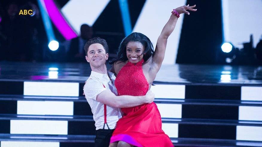 Fox411: Simone Biles gets sent home on 'DWTS'