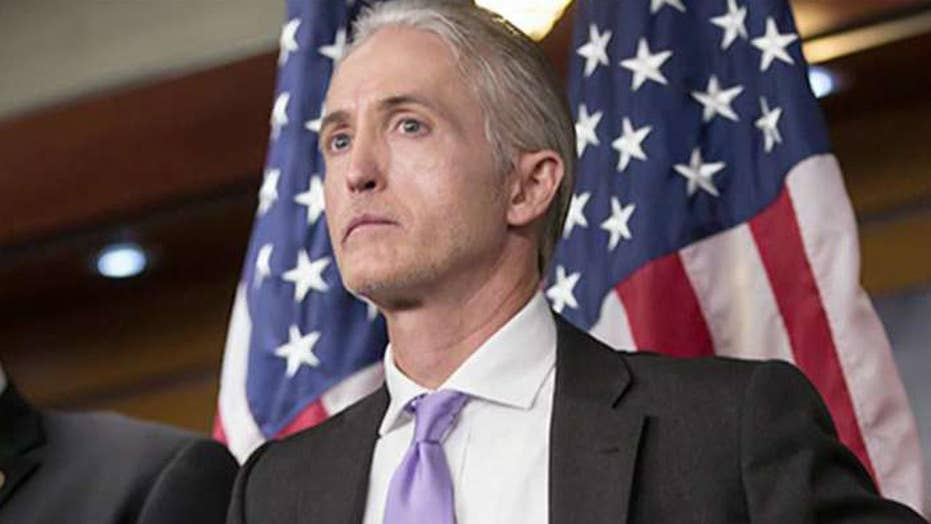 Rep.  Gowdy withdraws from consideration for new FBI chief