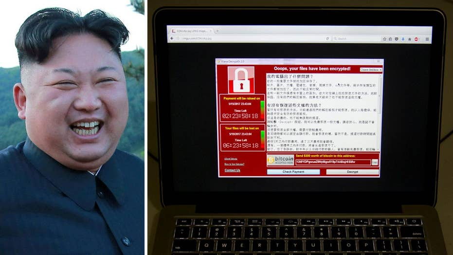 Suspected North Korea link in global cyberattack