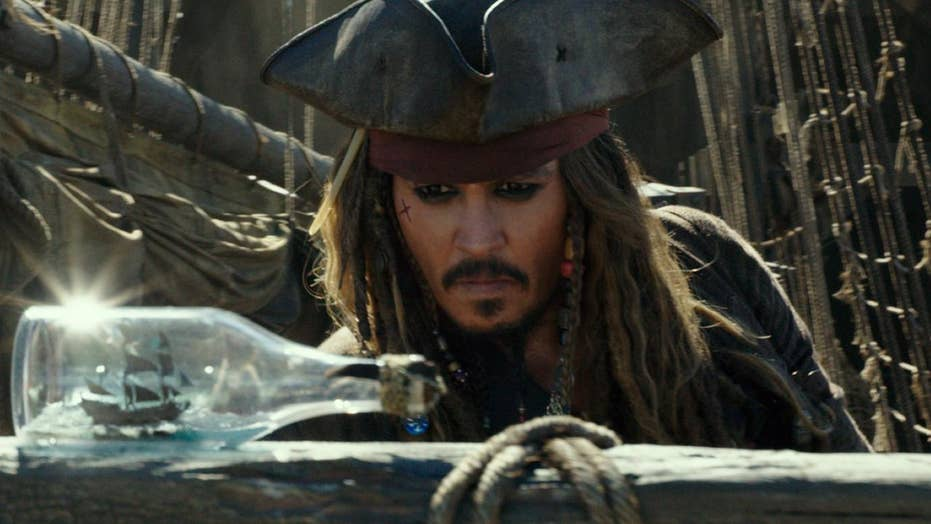 New 'Pirates of the Caribbean' stolen by hackers