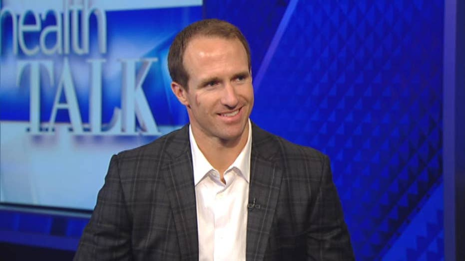 NFL star Drew Brees opens up on the effects of heat stroke