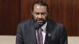 "Rep. Al Green presented articles of impeachment on the House floor, yet again, Friday morning calling President Trump ""unfit"" for office, just one month after the House overwhelmingly rejected his last proposal."