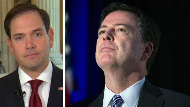 Rubio on Comey report: We need facts before conclusions