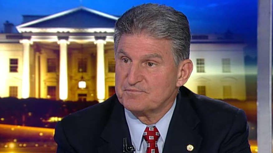 Dem Sen. Joe Manchin on the Russia-Trump controversy, how it has brought the government to a standstill and possible tremedies