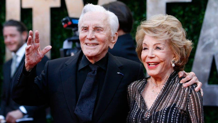 Kirk Douglas' wife knew about his affairs