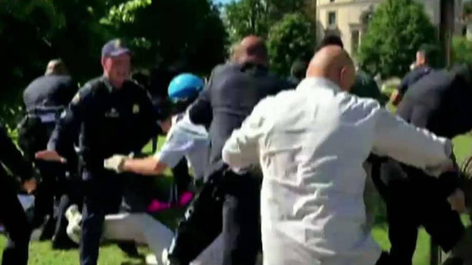 DC mayor condemns violence outside Turkish embassy