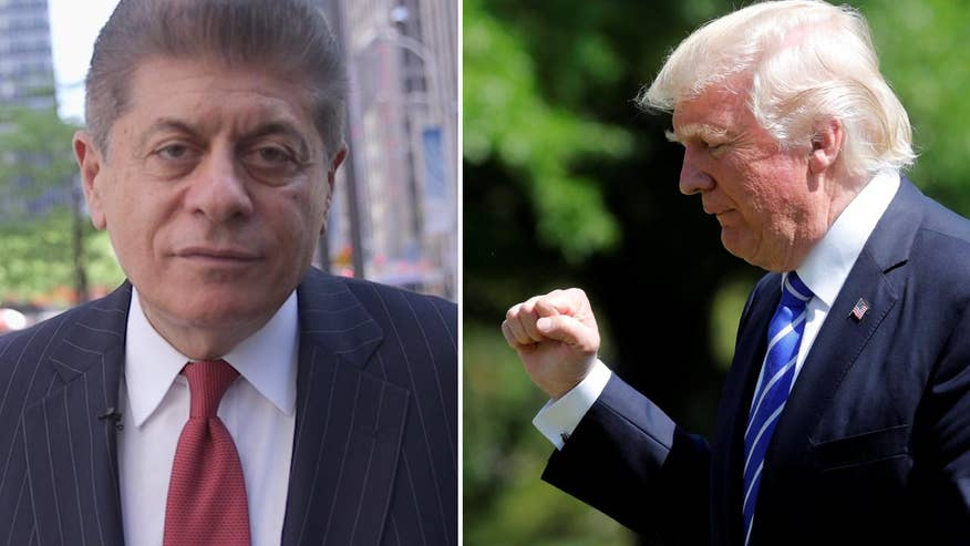 Judge Napolitano's Chambers: Judge Andrew Napolitano weighs in on Donald Trump's tough week, from leaks to accusations of obstruction of justice