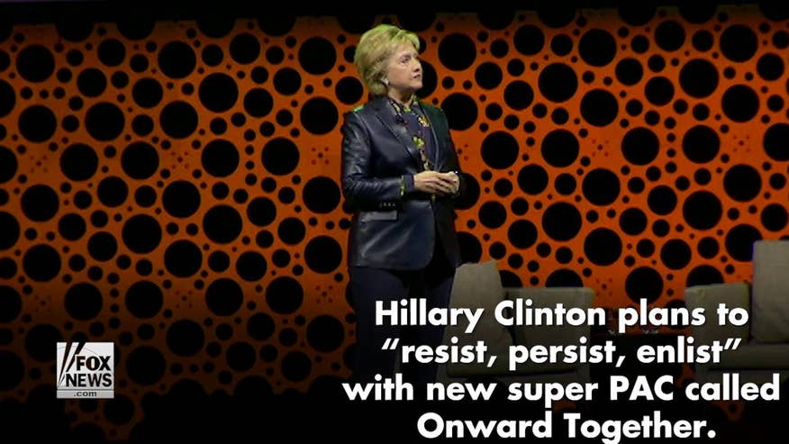 "Hillary Clinton launched a new political action committee called ""Onward Together."" Here are some of the different organizations the super PAC supports"