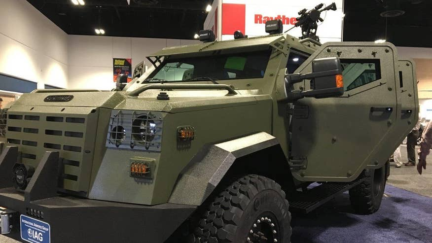 Tech Take: Allison Barrie highlights some of the most interesting military hardware seen at the 2017 Special Operations Forces Industry Conference