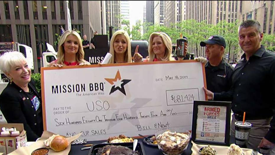 Mission BBQ serves troops and first responders
