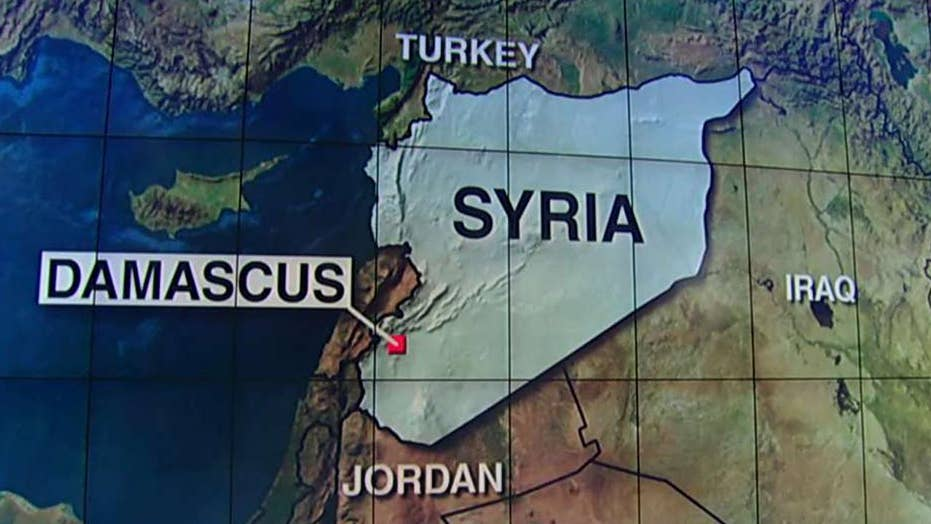 Officials: US airstrike hits pro-Assad forces in Syria