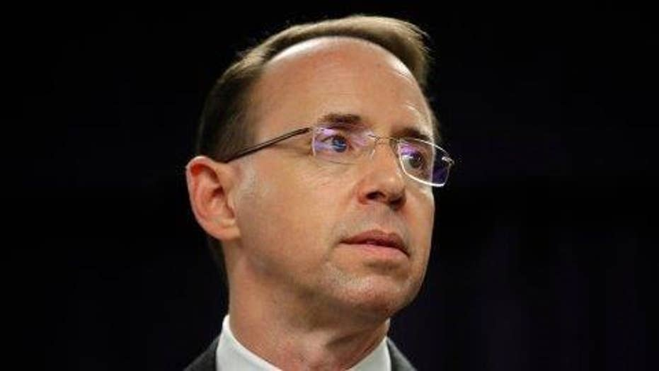 Rosenstein gives senators sense of scope of Mueller's probe