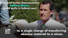 Former Representative Anthony Weiner pleads guilty to transferring obscene material to a minor