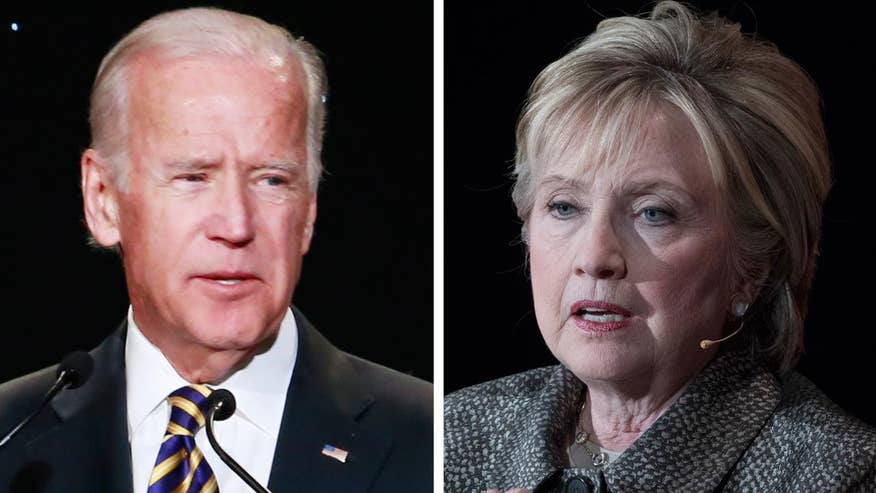 Former Vice President rips Hillary Clinton