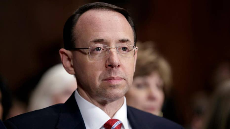 House lawmakers seek clarity from Rosenstein on Comey firing