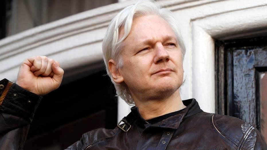 Assange after dropped rape case: 'war is just commencing'