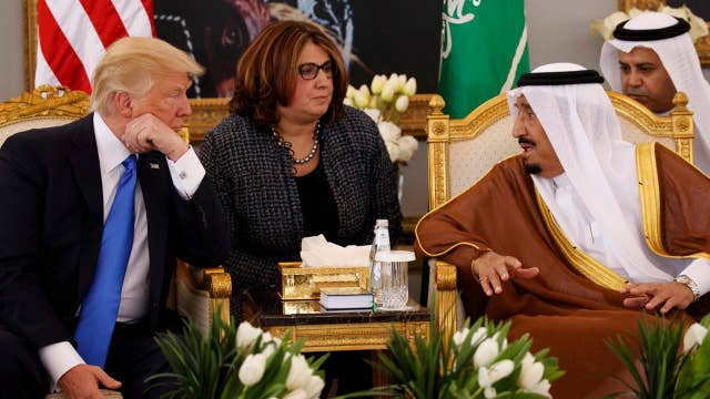 Rob O'Neill  reacts to Trump's welcome in Saudi Arabia
