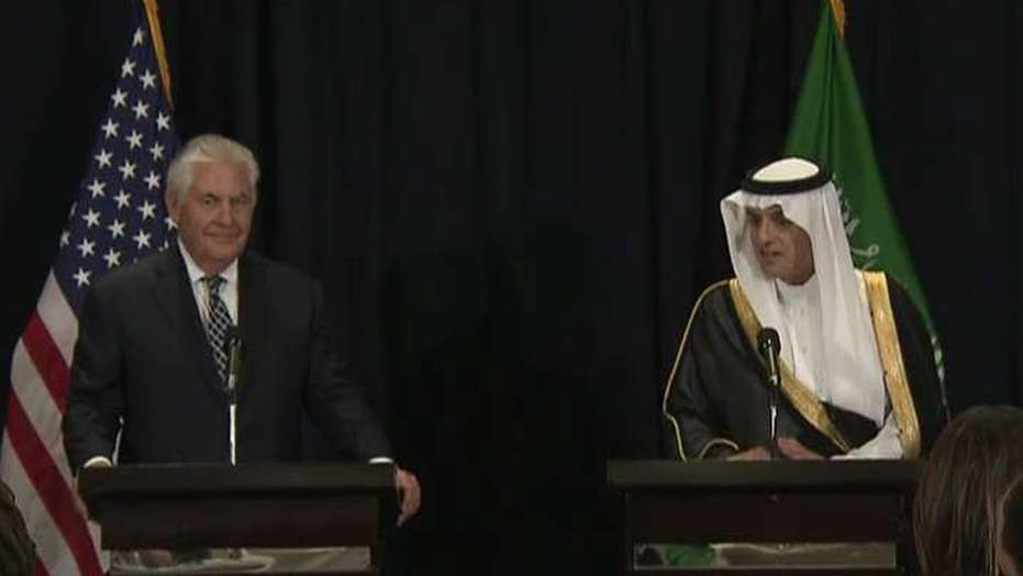 Tillerson: Today is historic for US-Saudi Arabia relations