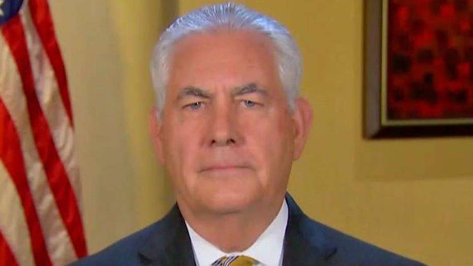 Rex Tillerson on what Trump trip means for US foreign policy
